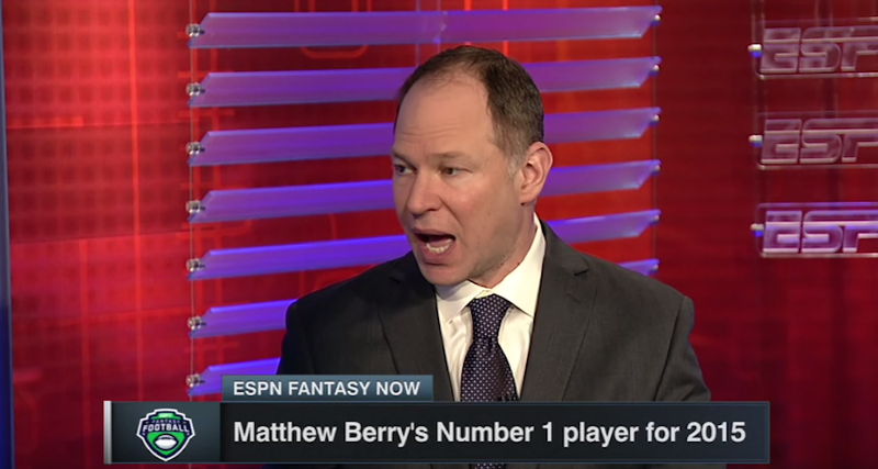 Illustration for article titled ESPN's Matthew Berry Sells Credibility To DraftKings