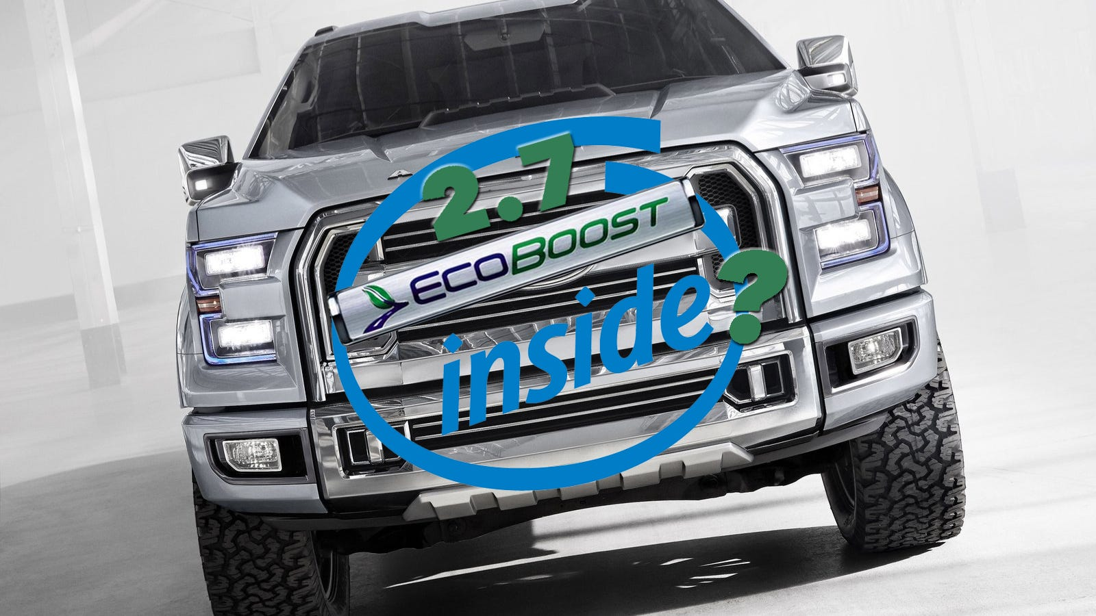 why the 2015 ford f 150 could get a 2 7 liter ecoboost v6. Black Bedroom Furniture Sets. Home Design Ideas