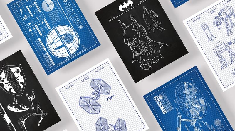 Inked and Screened Sci-Fi Prints | $13 | MassDrop