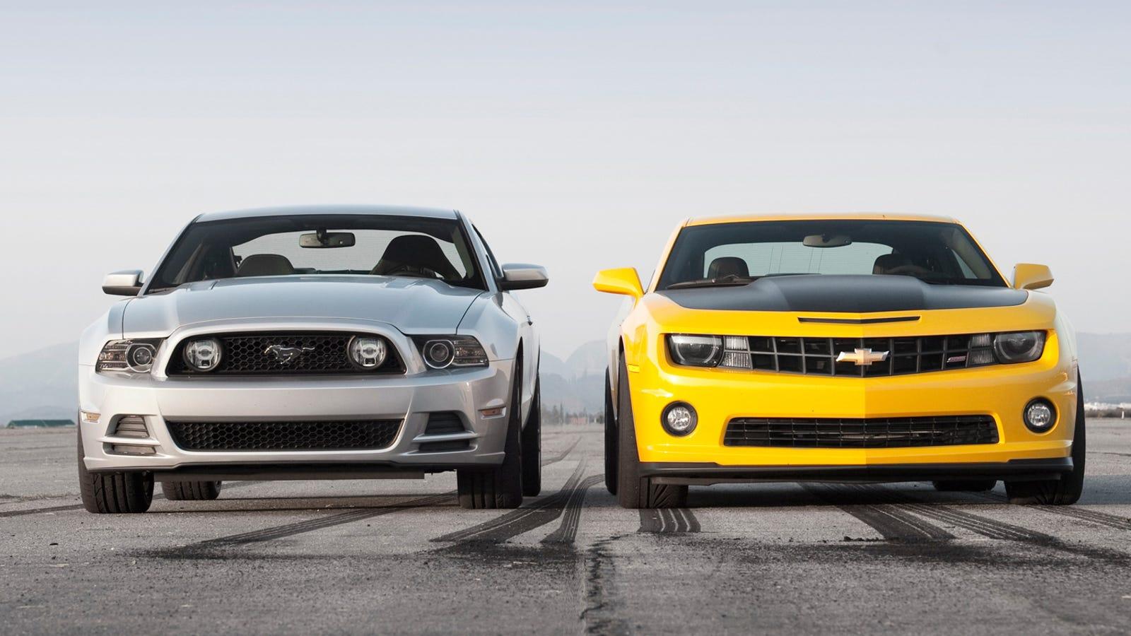 Pony Car Test Drives 2011 Camaro Ss Vs 2014 Mustang Gt