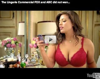 Illustration for article titled Plus-Size Lingerie Ad Removed From Web After Censorship By Networks (Updated)