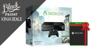Illustration for article titled Xbox One Unity Bundle for $330 with a Free Game of Your Choice