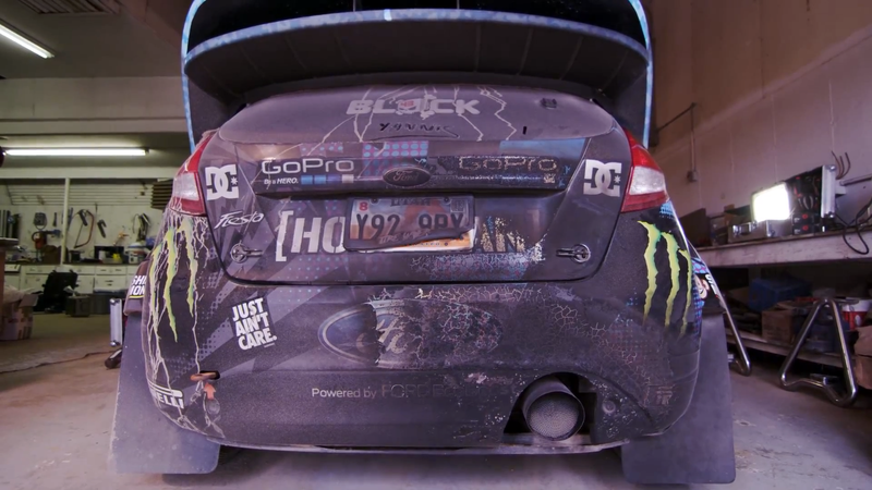 Illustration for article titled Ken Block Is Using A Rich Mixture In That Fiesta