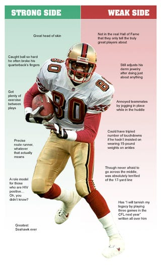 Illustration for article titled Jerry Rice