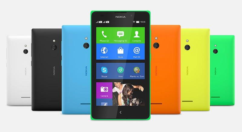 Nokia X, los primeros Nokia con Android que no salieron adelante