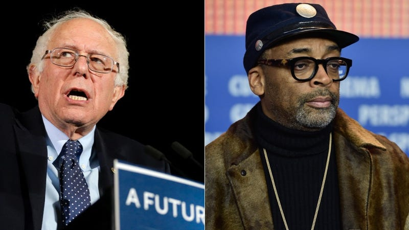 Illustration for article titled Spike Lee Endorses Brother Bernie Sanders in An Effort to Do the Thing That's Right