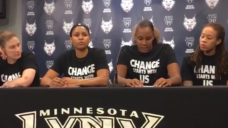 Lynx Forward Maya Moore Named Western Conference Player of the Week