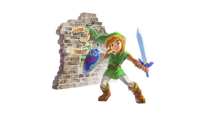 Illustration for article titled Zelda: A Link Between Worlds' Art Has Gotten...Goofier