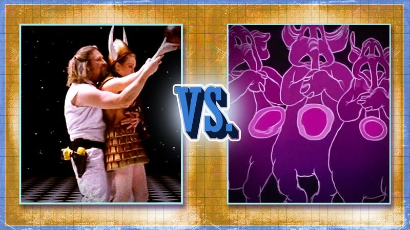 Illustration for article titled Vote Dumbo or The Big Lebowski in round 2 of our best dream sequence bracket