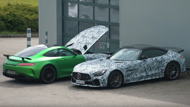 Illustration for article titled At This Point the 2020 Mercedes-AMG GT Black Series Is Pointless