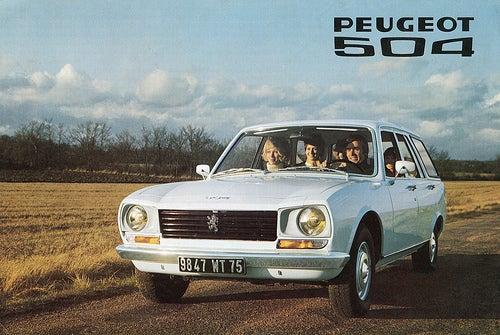 noleggio Peugeot 504
