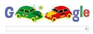 Illustration for article titled Excellent BRA-GER Google Doodle!