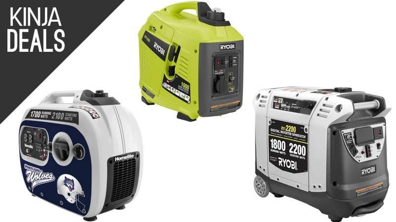 Home Depot S Discounting Several Portable Generators Starting At 299