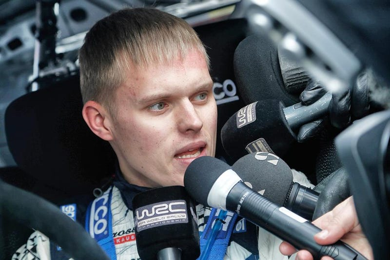 Illustration for article titled Is WRC Driver Ott Tänak's Hair Perfect Or Is It ***Perfect***?