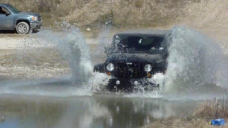 Illustration for article titled Why Did A New Jeep Wrangler Die In Ten Inches Of Water?