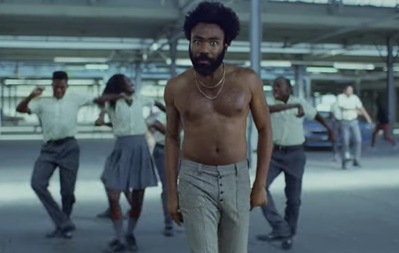 "Illustration for article titled Childish Gambino's manager denies ""This Is America"" plagiarism claims in deleted tweet"