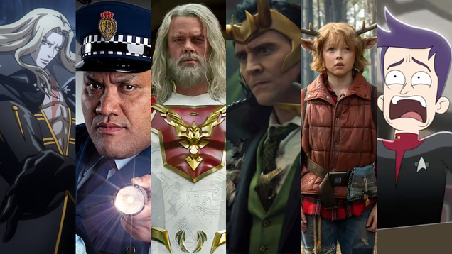 2021 Summer TV Preview: All the Sci-Fi, Horror, and Fantasy to Stay at Home With