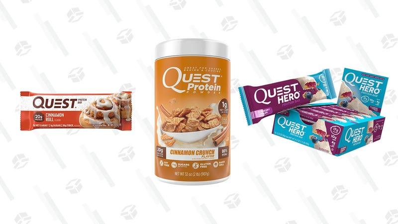 Quest Nutrition Gold Box | Amazon