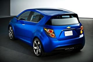 Illustration for article titled Chevy Aveo RS Show Car: Live Photos