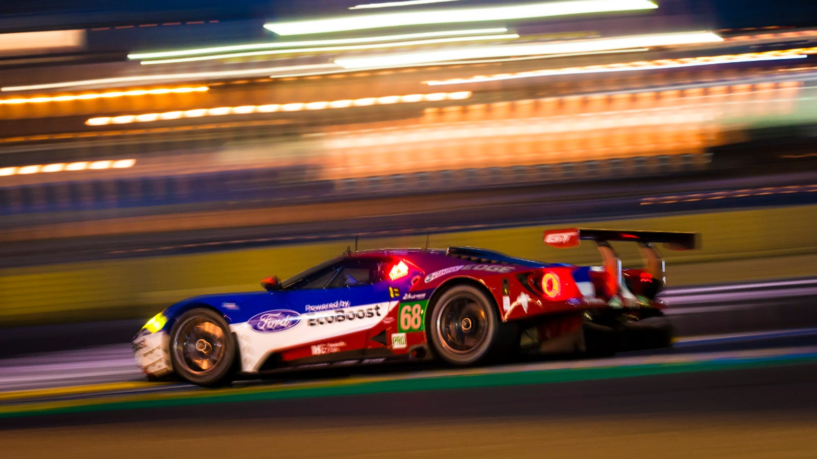 The Ford Gt And Ferrari  Teams Were Sandbagging Before Le Mans After All
