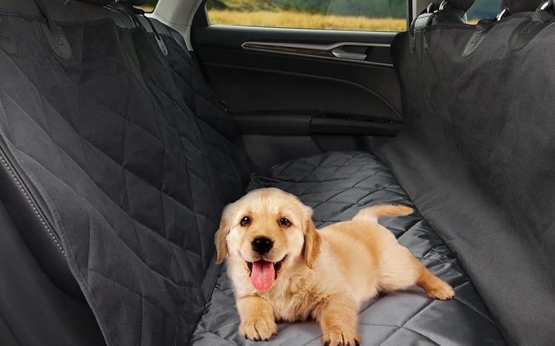 TaoTronics Dog Car Seat Cover, $28