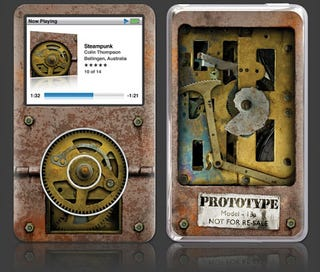 Illustration for article titled Steampunk-ify Your iPod With Gelaskins