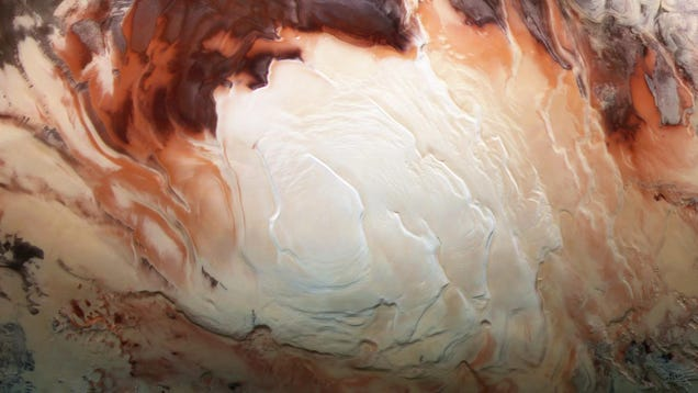 A Previously Undetected Chemical Reaction Has Been Spotted on Mars