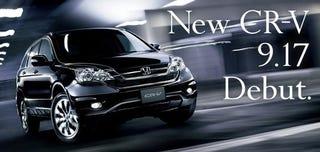 Illustration for article titled 2010 Honda CR-V Puts A New Fascia Forward