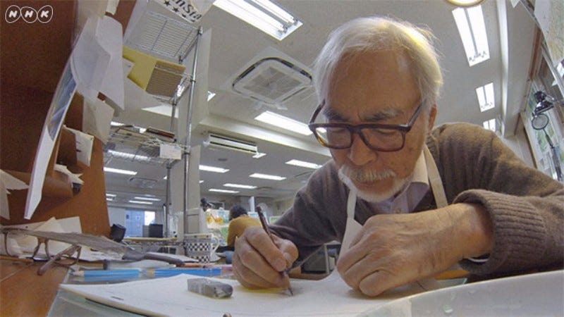 Illustration for article titled Studio Ghibli Producer Doesn't Think Hayao Miyazaki Will Ever Retire