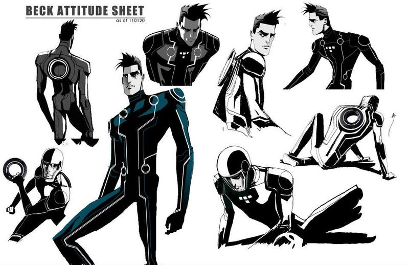 Illustration for article titled Tron: Uprising Concept Art