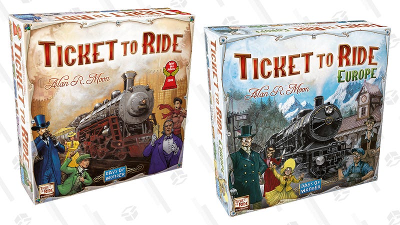 Ticket to Ride Board Game | $30 | WalmartTicket to Ride: Europe | $35 | Amazon