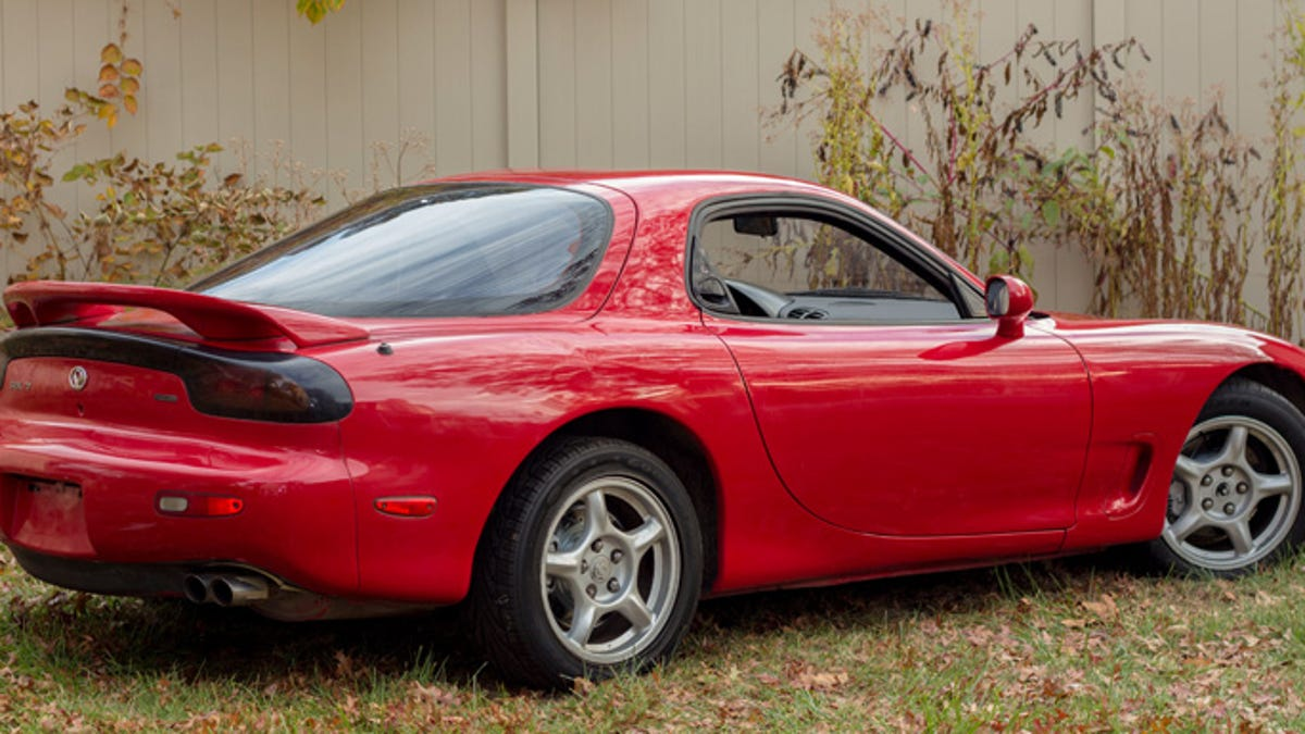 Heres How I Bought And Sold A Mazda Rx 7 That Sat In Yard For Illumination Lights Wiring Diagram Of 1994 Decade