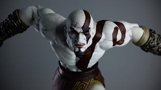Illustration for article titled New Kratos Figure Has One Hell Of A Scowl