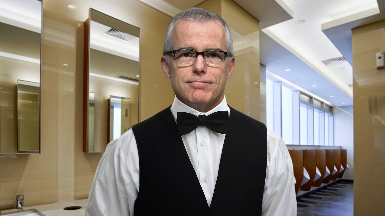 Andrew Mccabe Spending Few Days As Congressional Bathroom -9249