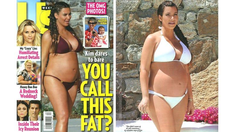Illustration for article titled Us Magazine's Kardashian Paparazzi Pix Are Not Really Paparazzi Pix