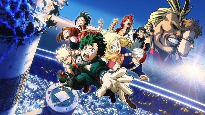 Illustration for article titled My Hero Academia: Two Heroes A Film for the Fans