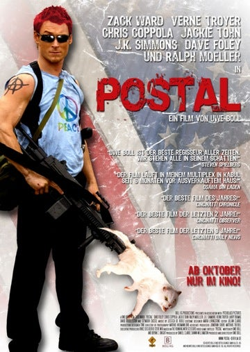 Illustration for article titled I paid ten dollars to see Postal and all I got was this lousy blog post