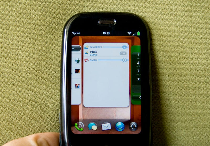 Illustration for article titled Running Custom Firmware on the Palm Pre Is Rather Easy