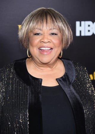 Mavis Staples attends the New York premiere of HBO's documentary film Mavis! at Florence Gould Hall in New York City on Feb. 24, 2016.Michael Loccisano/Getty Images for HBO