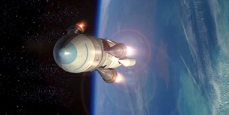 Illustration for article titled La DARPA planea poner satélites en órbita desde cazas de combate