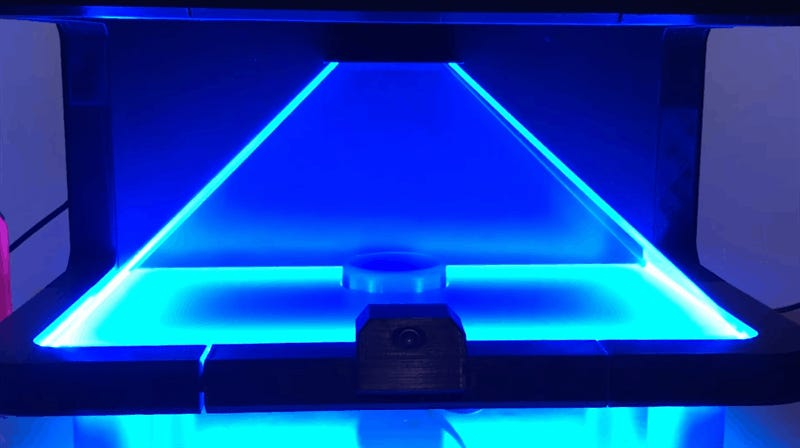 Halo Fan Turns Microsoft's Cortana Into Actual Hologram
