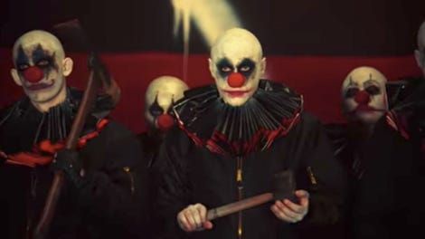 The 13 Scariest Evil Movie Clowns (So Far)