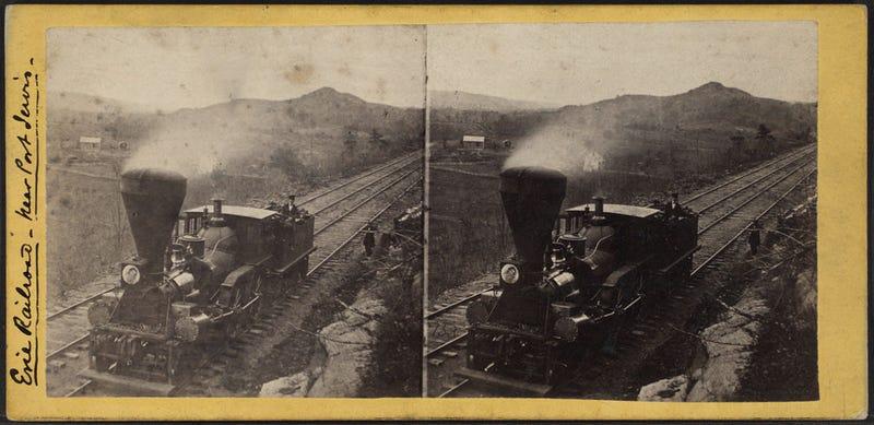 Illustration for article titled Some more old locomotives.