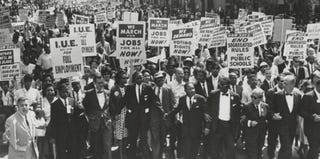 Marchers at the March on Washington (Wikimedia Commons)