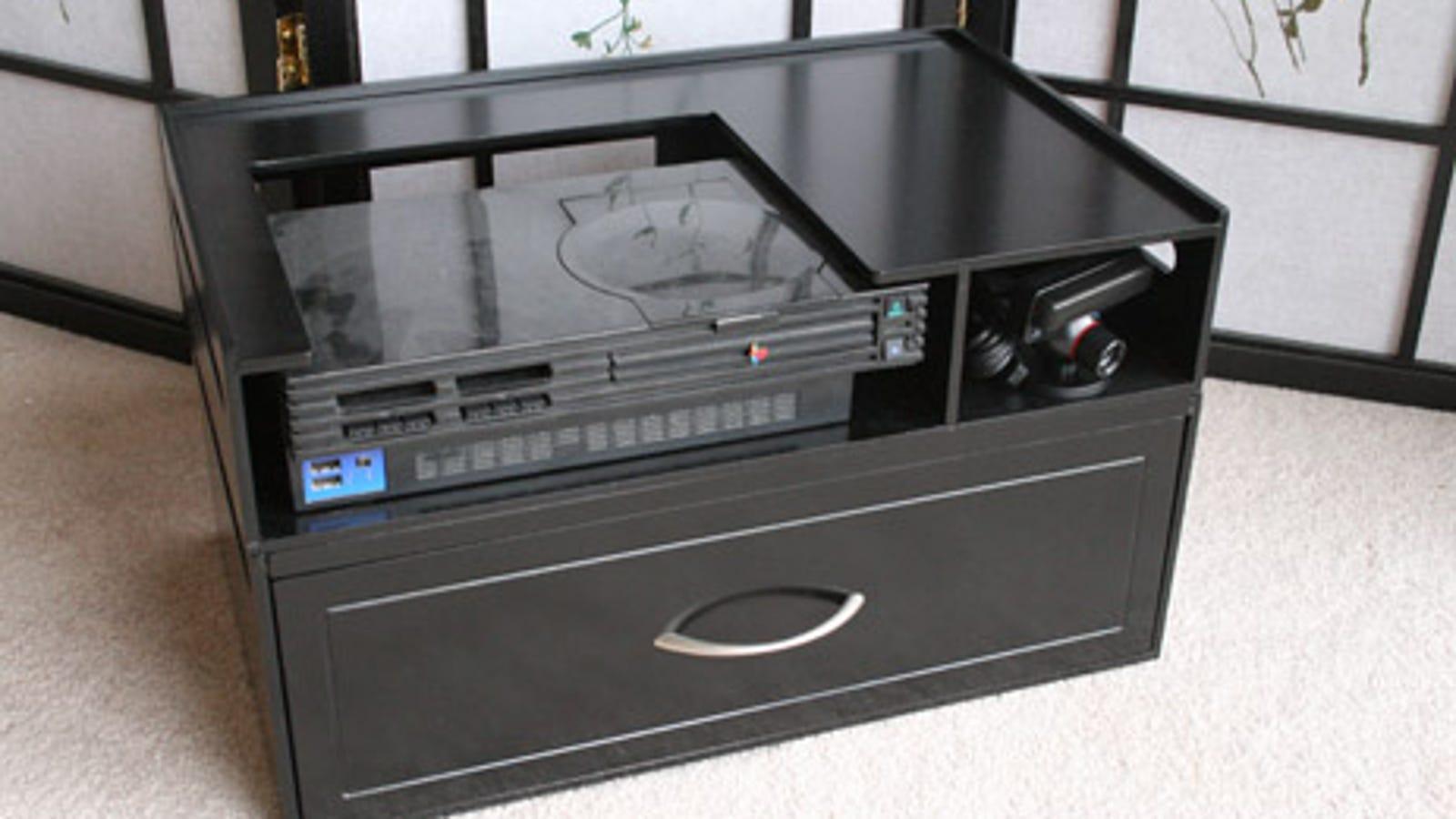 Lightning Round Kangaroom Video Game Storage Unit