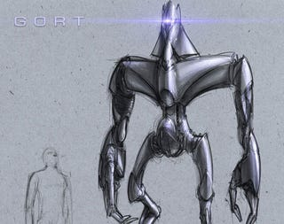 Illustration for article titled Gort Was Almost A Cylon Centurion