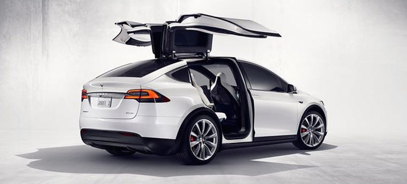 Illustration for article titled Whoa There Dreamers: Tesla Model X Configurator Is Invite Only