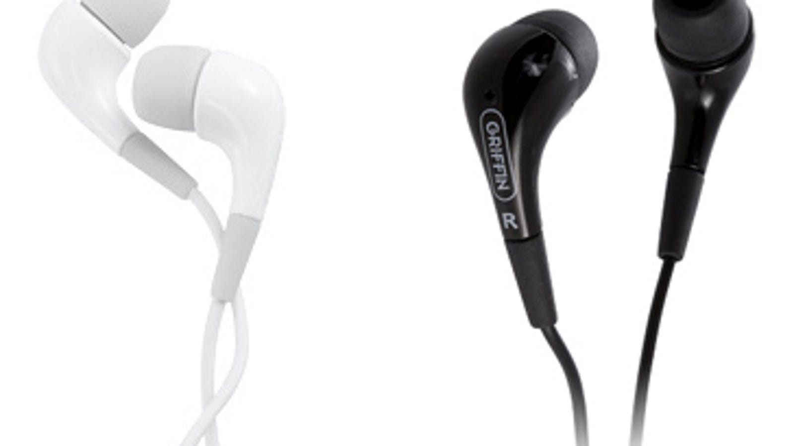earbuds black panasonic - Breaking News: Griffin Releases More iPod Accessories