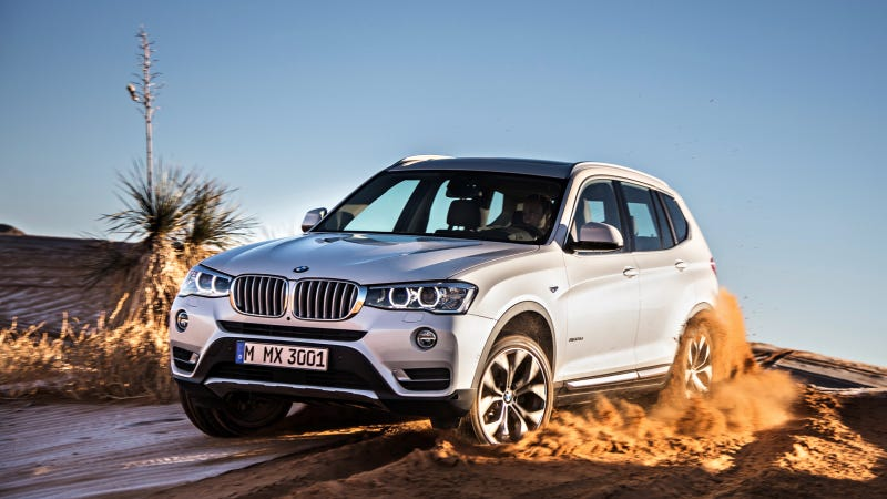 Illustration for article titled The 2015 BMW X3 Gets Diesel Power To Compete Against 3-Series Wagon
