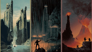 Illustration for article titled You'll Have To Hurry To Own These Incredible Lord Of The Rings Posters